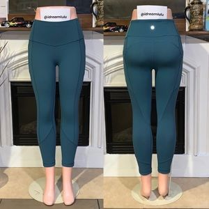 """🌿Lululemon All The Right Places 23"""" Rare"""